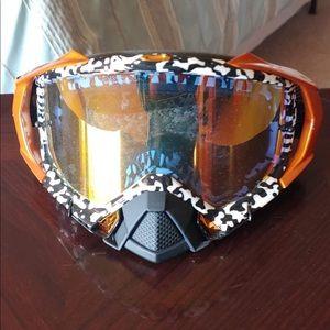 Oakley mayhem mx pro goggles NWOT